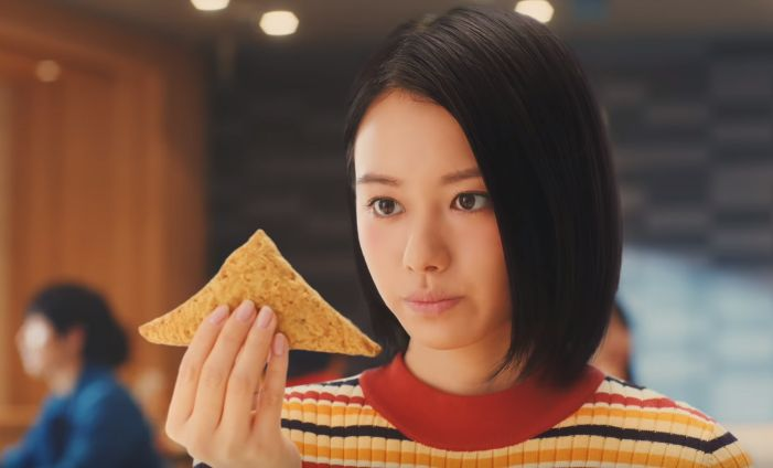 三角 チョコパイ cm
