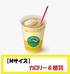 【Mサイズ】カロリー&糖質