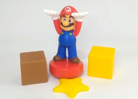 マリオのブロック積み重ねバランスゲーム