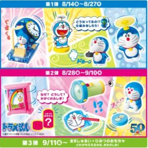 『ドラえもん わくわくサイエンス』のおもちゃ【種類】&【画像】について