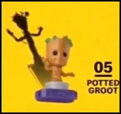 【植木鉢(うえきばち)版】グルート/POTTED GROOT