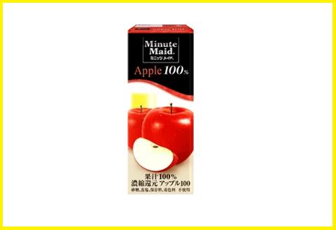 ミニッツメイド アップル100