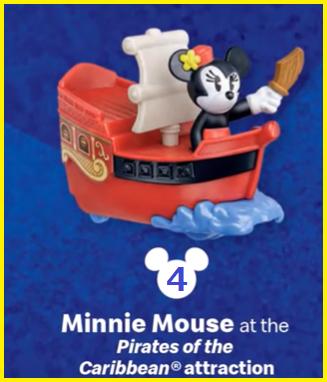 ミニーマウスのカリブの海賊