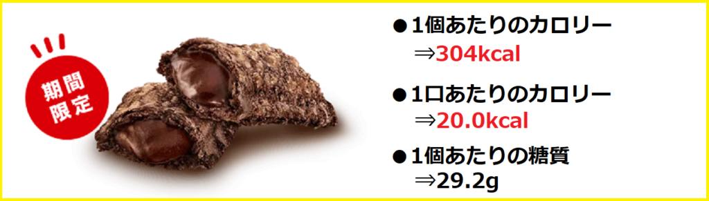 『(単品)ベルギーショコラパイ』の【カロリー/糖質】