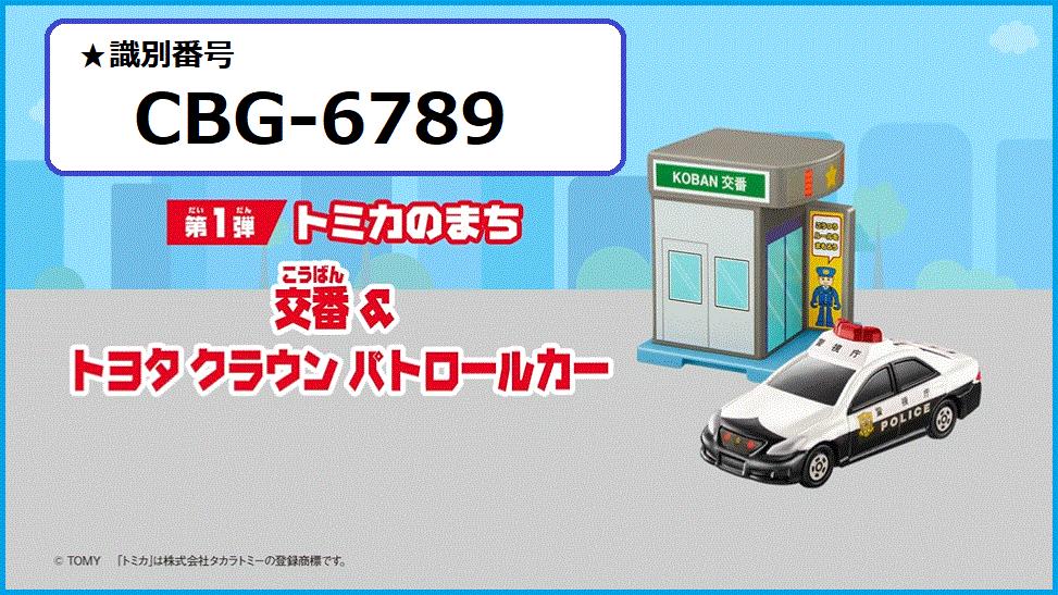 識別番号:CBG-6789