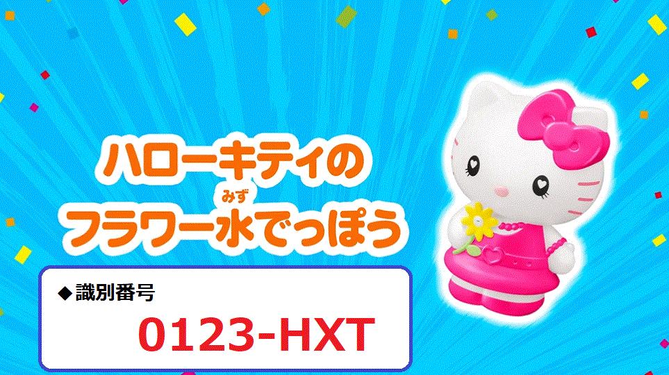 識別番号:0123-HXT