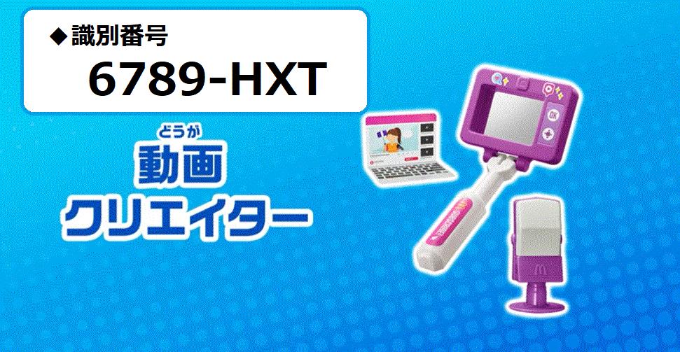 識別番号:6789-HXT